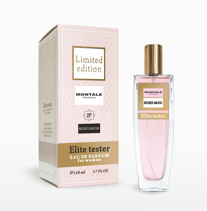 Montale Roses Musk edp 110ml Elite tester Limited edition