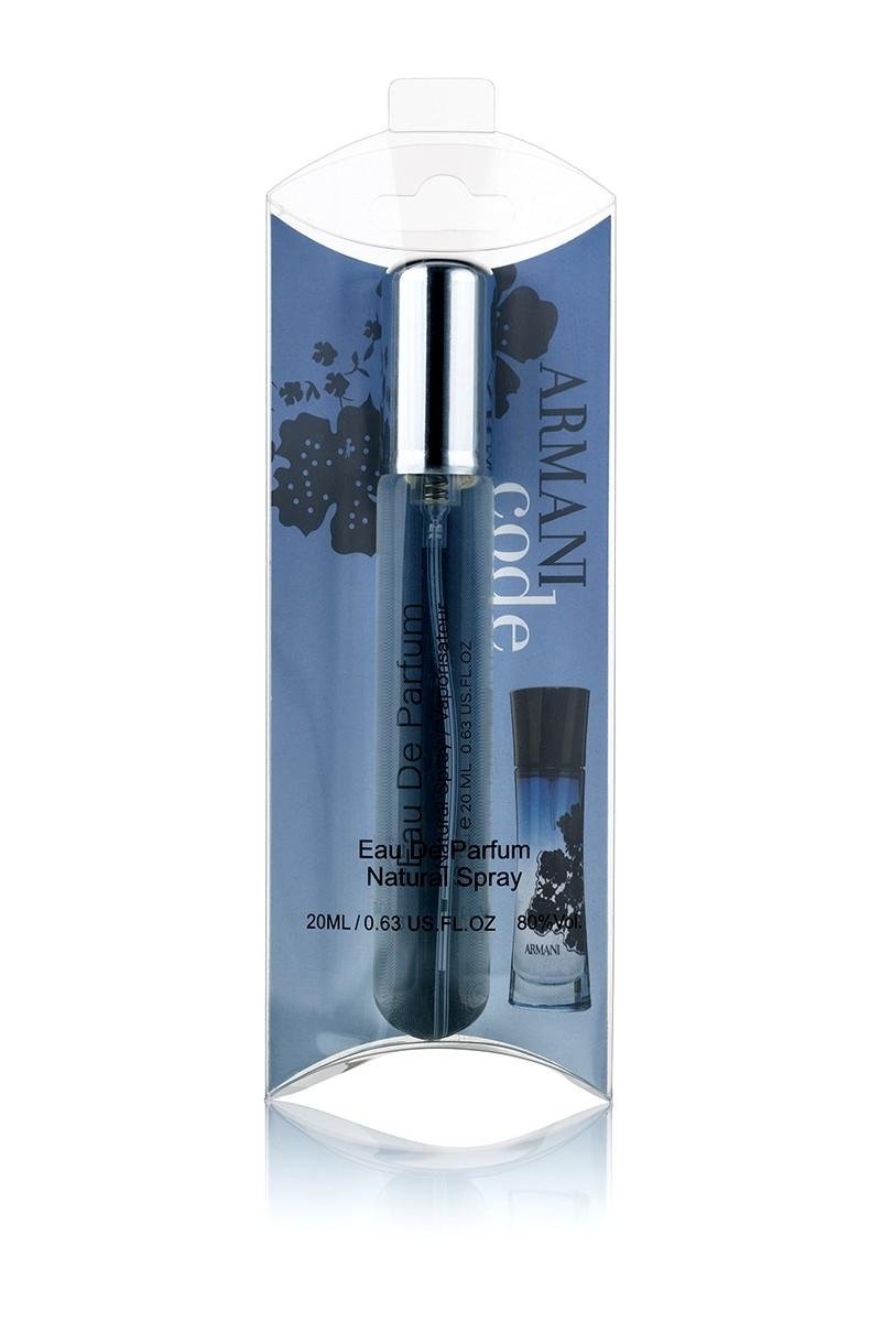 Armani Code edp 20ml духи ручка спрей стекло на блистере ... a4f5630157155