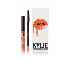 парфюмерия, косметика, духи Kylie Dirty Peach Matte Liquid LipsticK and Lip Liner матовая помада + карандаш